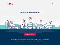 Hoppy Landing Page 2017