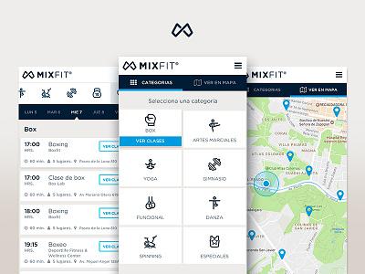 Mixfit App app fitness