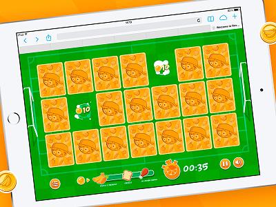 Como Como Web Game kids game interactive illustration web game