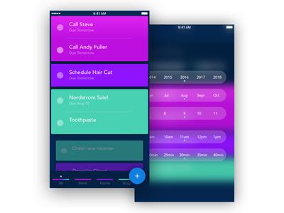 TODO App Concept for iOS