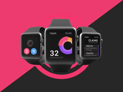 Tech Watch App actions list graph app watchos watch apple watch ios