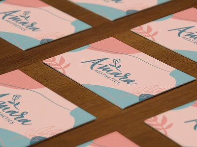 Amara Aesthetics Business Cards