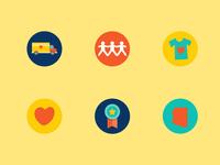 Clothing4Children Brand Icons