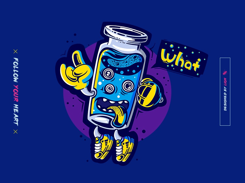 cup man~   yay!!! illustration