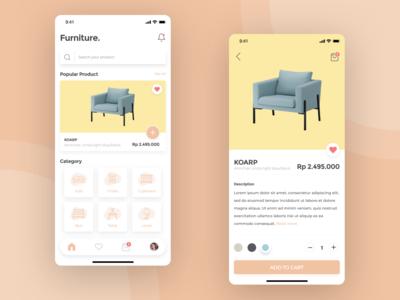 Furniture. Apps