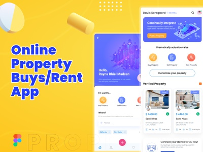HomeFind | Property Search App ux design landing page ui design app ui app design template app design