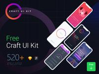 Craft: UI Kit of 520+ Screens