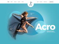 Wordpress website header