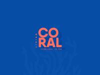 Pantone Living Coral 2019 | Typography