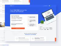PlanBuilder Landing Page