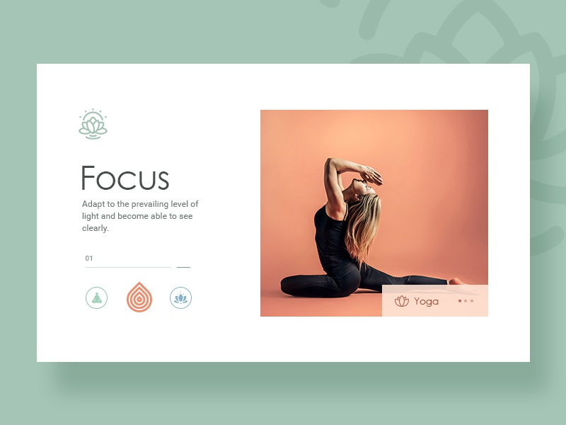 Yoga Website Design By Design Studio On Dribbble