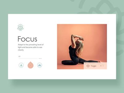 Yoga Website Design minimalist design ux design ui designer landing page web  design website healthy meditation lifestyle yoga