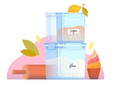 Plastic containers 1