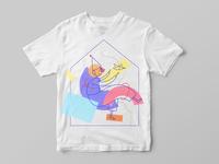 Merch t-shirt for puppet theatre