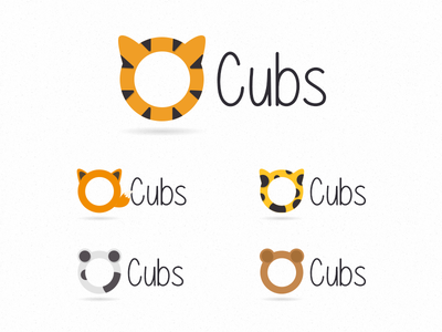 Cubs Childcare Branding