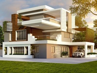 Exterior Home Design Designs Themes
