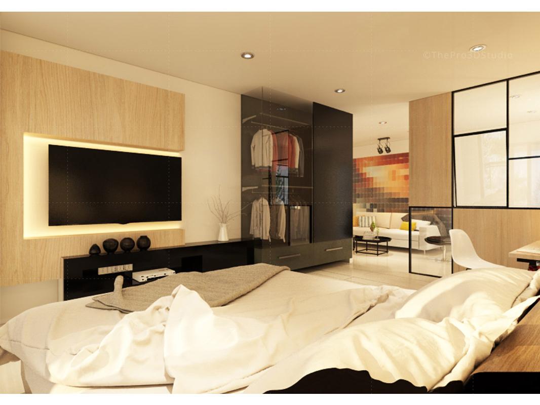 3d Bedroom Interior Design By Sushmita Roy On Dribbble