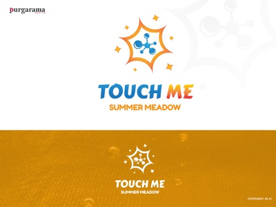 Touch me logo concept V2 logotype logodesign logo graphicdesign vector cute typography branding graphic design design