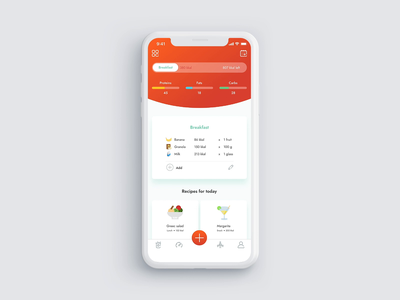 Calories Counter minimal flat sound daily ui shadow motion gif gradient design illustration apple smart sport fitness app concept animation ui ux colors app