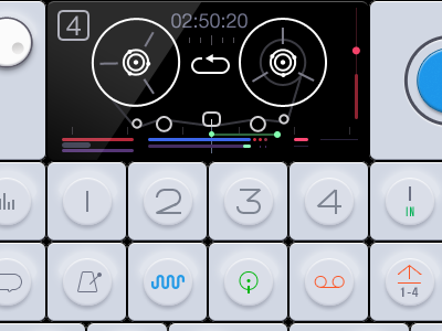 OP-1 iPad UI Finished.