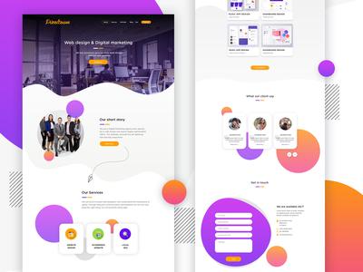 pixelton website design