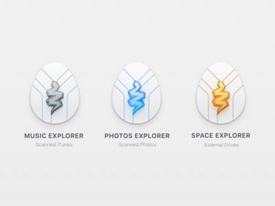 Snake Icons achievements app gemini2 macpaw icon icons illustration