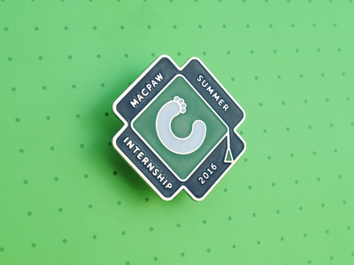 Internship Badge illustrtion students macpaw badge internship icon