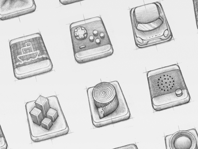 CMD Sketches pen drawing sketching mac sketch icons cleanmydrive