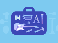 Tool Box Illustration
