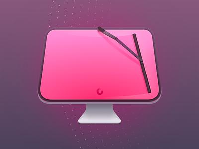 Cleanmymac X icon macpaw app design icon iconography x mac clean