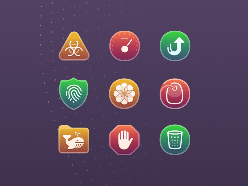 CleanMyMac X icons cleanmymac icon set app mac app icon