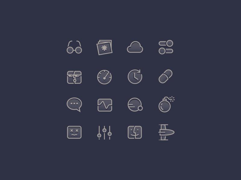 icon set cleanmymac icon set macpaw design icon