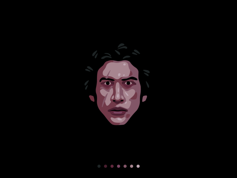 Ben Solo character iconography icon design starwars kylo ren ben solo design illustration