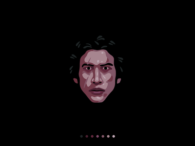 Ben Solo character iconography icon design starwars kylo ren ben solo design illustration