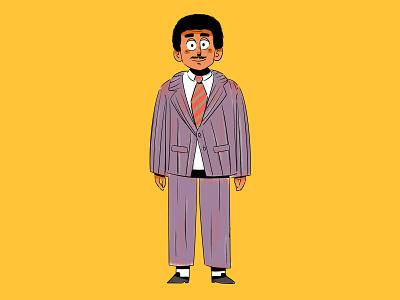 Mohammed Abdu animation 2d character cartoon illustration
