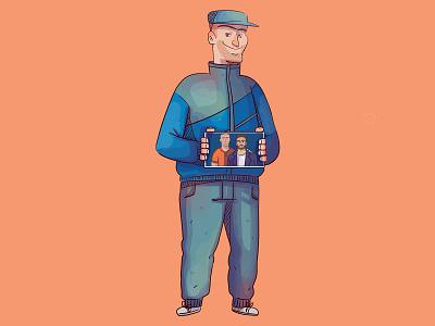 De stefano animation 2d character cartoon illustration