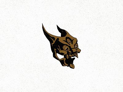 Do Not Go Gentle drawing illustration design logo mask brush ink