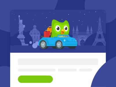 New Year's Email 2018 sean dockery illustration layout newsletter email learning travel duolingo