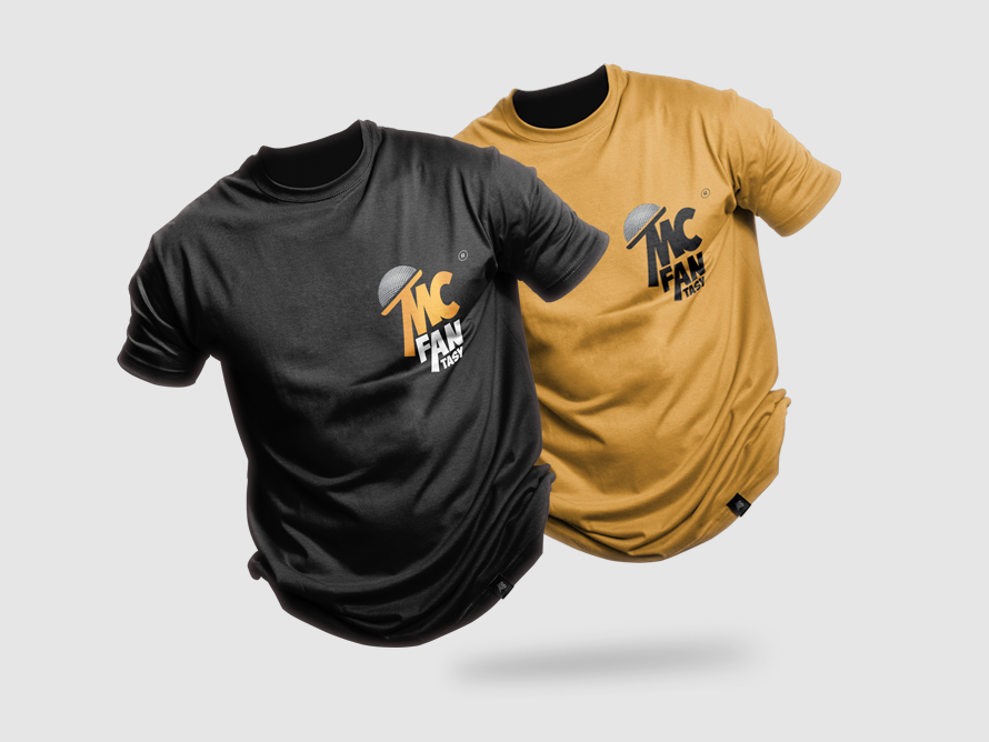 Mockup Shirt for Mc Fantasy mc chicagodesigners eventslogo creativity design logomockups logo