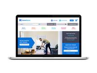 Homespare Web Mockup