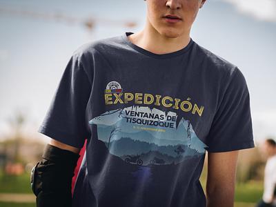 Motorcycle Trip Shirt Design mockup royal enfield colombia motorcycle shirt