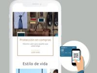 "Visa Signature - Welcome Kit ""Seguros"""