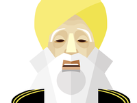 Fauja Singh the oldest marathon runer.