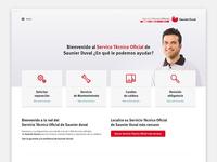 Web del Servicio Técnico Oficial de Saunier Duval