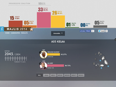 Maldives Parliament Election maldives parliament charts infographs politics numbers