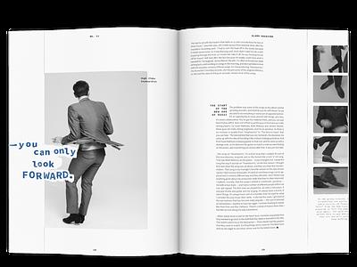 Alarm Magazine Concept monospaced blackandwhite black and white analog hand drawn type editorial typography