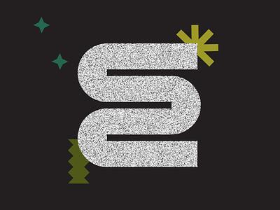 36 Days of Type _ E stars nasa squiggle daily glitchy shapes illustration 36daysoftype08 36daysoftype 36days monogram typography