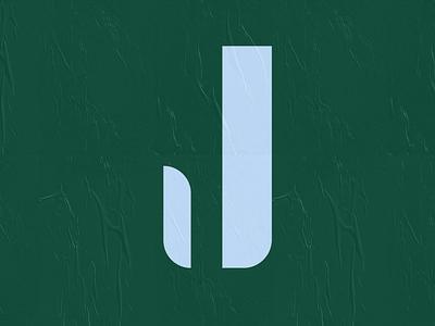 36days _ J sans-serif sanserif simple wheatpaste texture daily 36daysoftype08 logo letter j monogram 36daysoftype typography