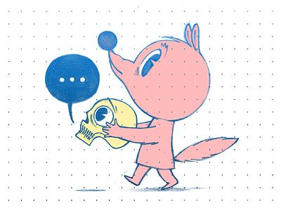 Foxy sketch sketchbook illustration character