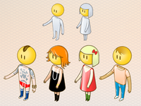 isometric avatars concept